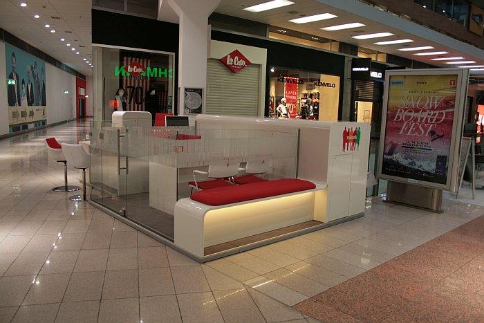 Nový vzhľad mKiosku v Banskej Bystrici v Europa Shopping Centre