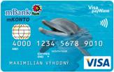 bezkontaktná karta mBank