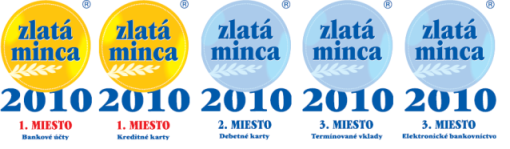 zlate mince pre mBank