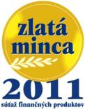 Zlatá minca logo