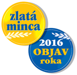 Zlatá minca 2016 - Objav roka